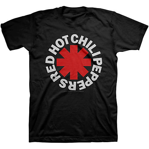 Bravado Red Hot Chili Peppers Asterisk Mens T-Shirt-thumbnail