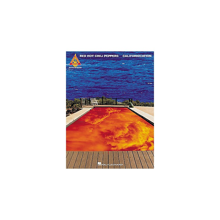 Hal LeonardRed Hot Chili Peppers Californication Guitar Tab Book