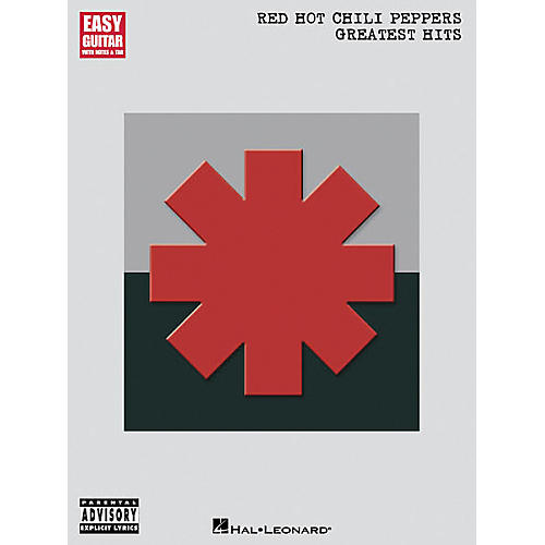 Hal Leonard Red Hot Chili Peppers Greatist Hits Easy Guitar Tab Songbook