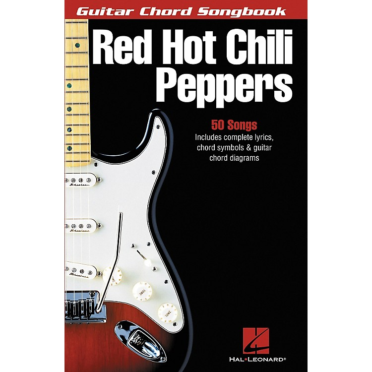 Hal LeonardRed Hot Chili Peppers Guitar Chord Songbook