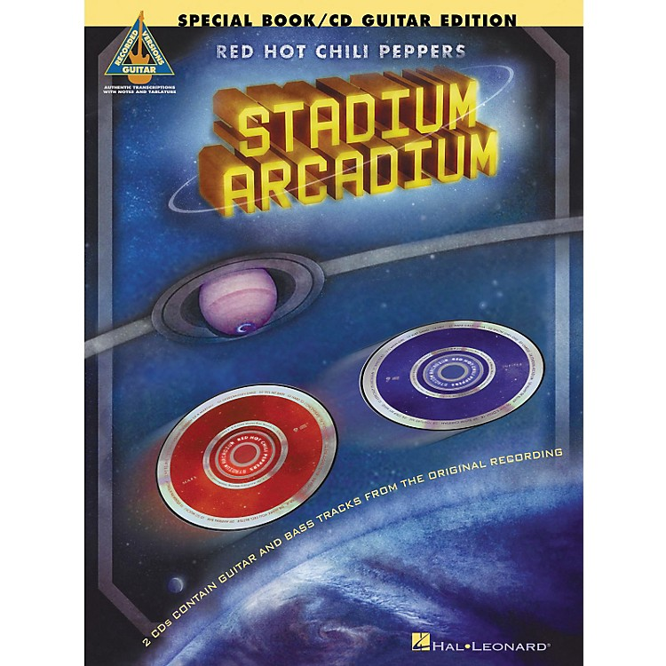 Hal LeonardRed Hot Chili Peppers Stadium Arcadium Special Edition Guitar Tab Songbook with 2 CDs