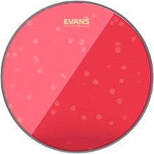 Evans Red Hydraulic Drum Head