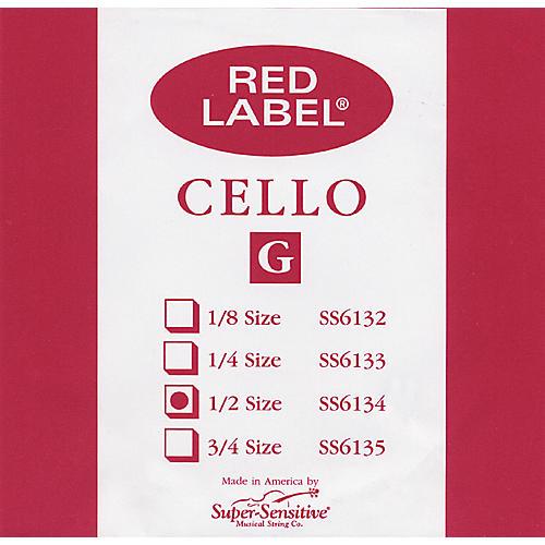 Super Sensitive Red Label 1/2 Cello G String