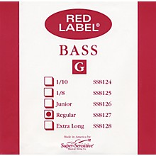 Super Sensitive Red Label 3/4 Size Double Bass Strings 3/4 G String
