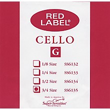 Super Sensitive Red Label Cello G String