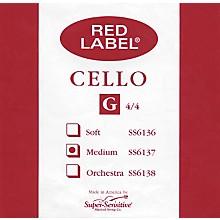 Super Sensitive Red Label Cello G String 4/4