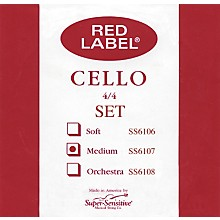 Super Sensitive Red Label Cello String Set