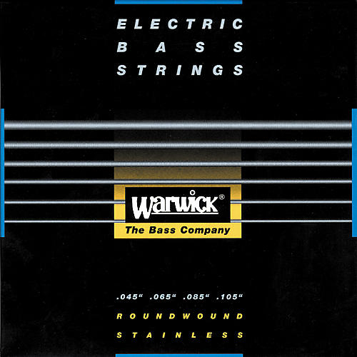 Warwick Red Label Stainless Wound Medium Light 4-String Bass Strings