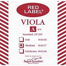 Super Sensitive Red Label Viola A String Full