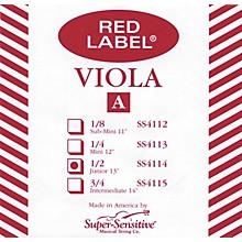 Super Sensitive Red Label Viola A String Junior