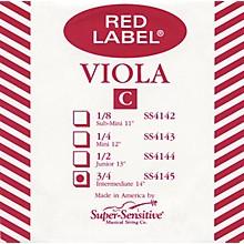 Super Sensitive Red Label Viola C String Intermediate