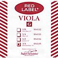 Super Sensitive Red Label Viola G String  Thumbnail