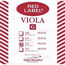 Super Sensitive Red Label Viola G String Junior