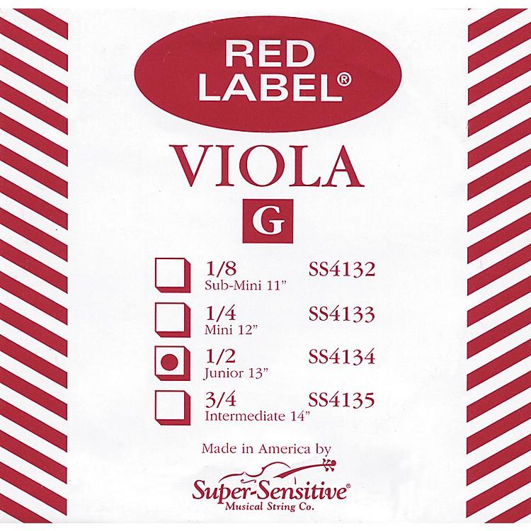 Super SensitiveRed Label Viola G StringSub-Mini (11 IN)