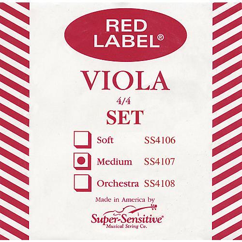 Super Sensitive Red Label Viola String Set Sub-Mini (11-in.)