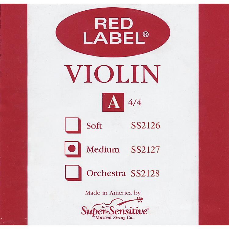 Super SensitiveRed Label Violin A String4/4