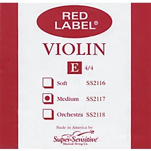 Super Sensitive Red Label Violin E String