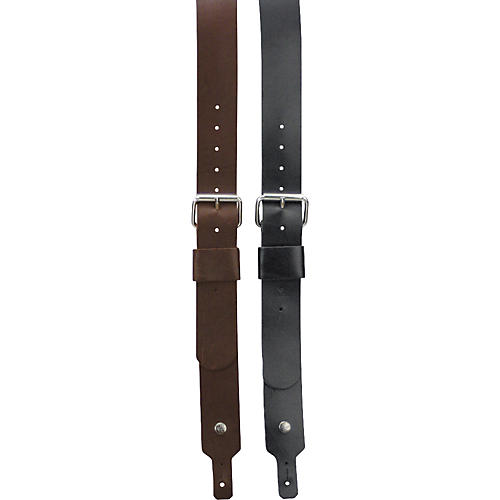 Dunlop Red Monkey Refugee Leather Guitar Strap-thumbnail