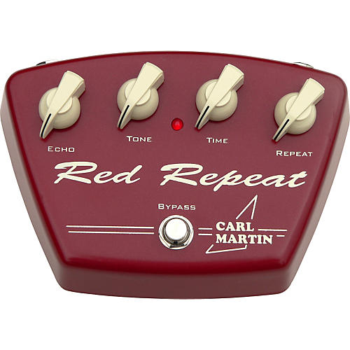 Carl Martin Red Repeat Guitar Effects Pedal-thumbnail