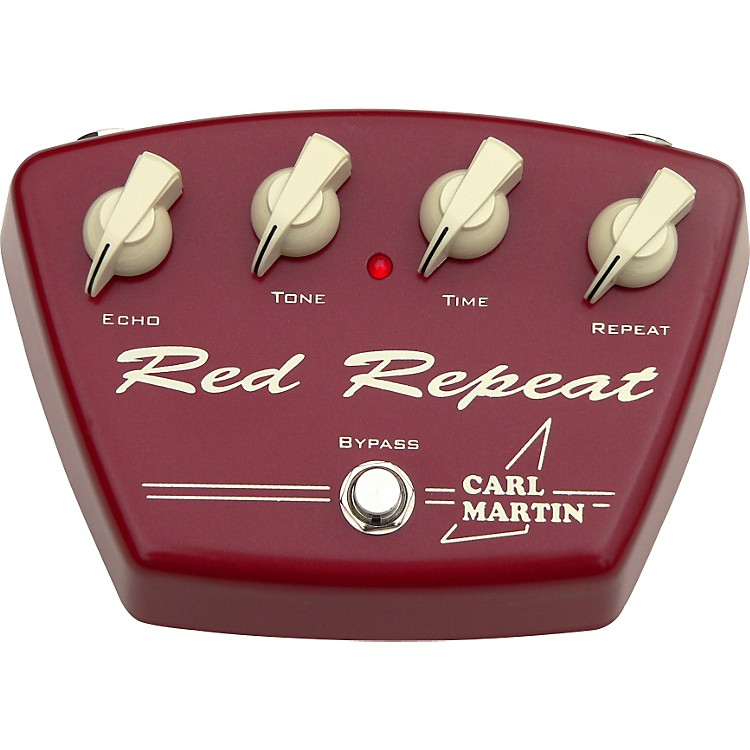 Carl MartinRed Repeat Guitar Effects Pedal