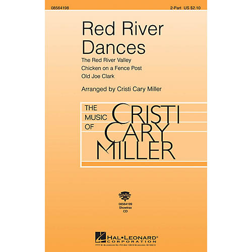 Hal Leonard Red River Dances ShowTrax CD Arranged by Cristi Cary Miller