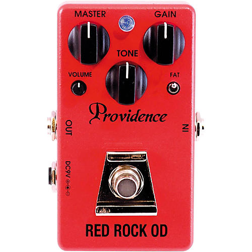 Providence Red Rock OD / Overdrive Effects Pedal-thumbnail