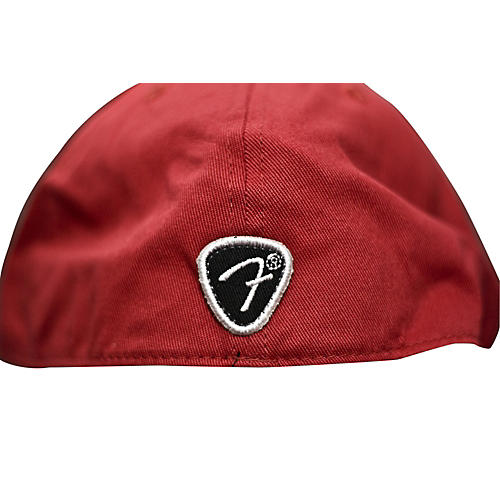 Fender Red Script Logo Stretch Cap Red S/M