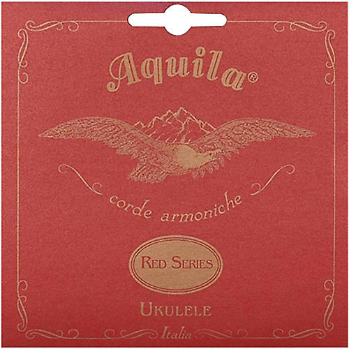 AQUILA Red Series 83U Soprano Ukulele Strings (GCEA Tuning) Red
