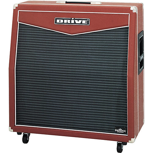 Drive Red Special MRG412L 500W 4x12 Guitar Extension Cabinet-thumbnail