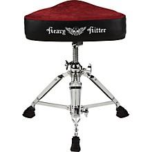 Ddrum Red Velvet Motorcycle Drum Throne