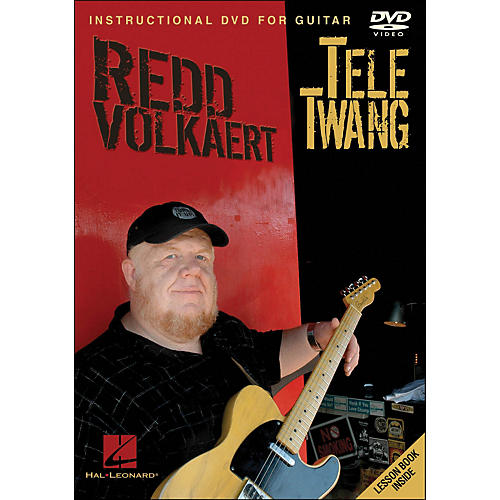 Hal Leonard Redd Volkaert Tele Twang - Instructional & Performance Guitar DVD