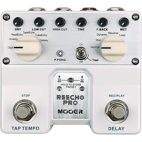 Mooer Reecho Pro Delay Effects Pedal-thumbnail