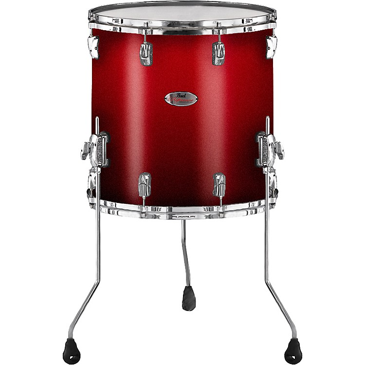 Pearl Reference Floor Tom Drum Scarlet Fade 18 X 16