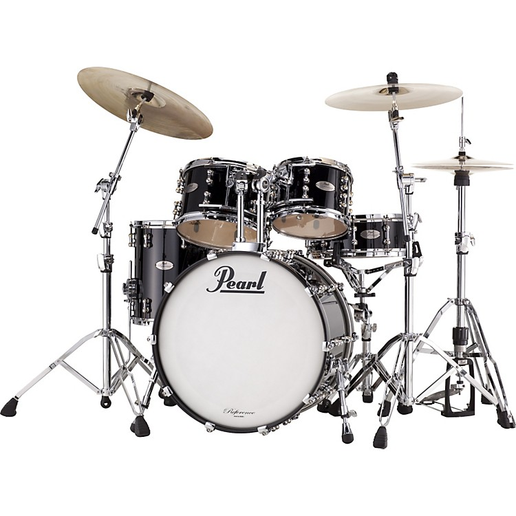 Pearl Reference Pure Fusion 4-Piece Shell Pack Piano Black