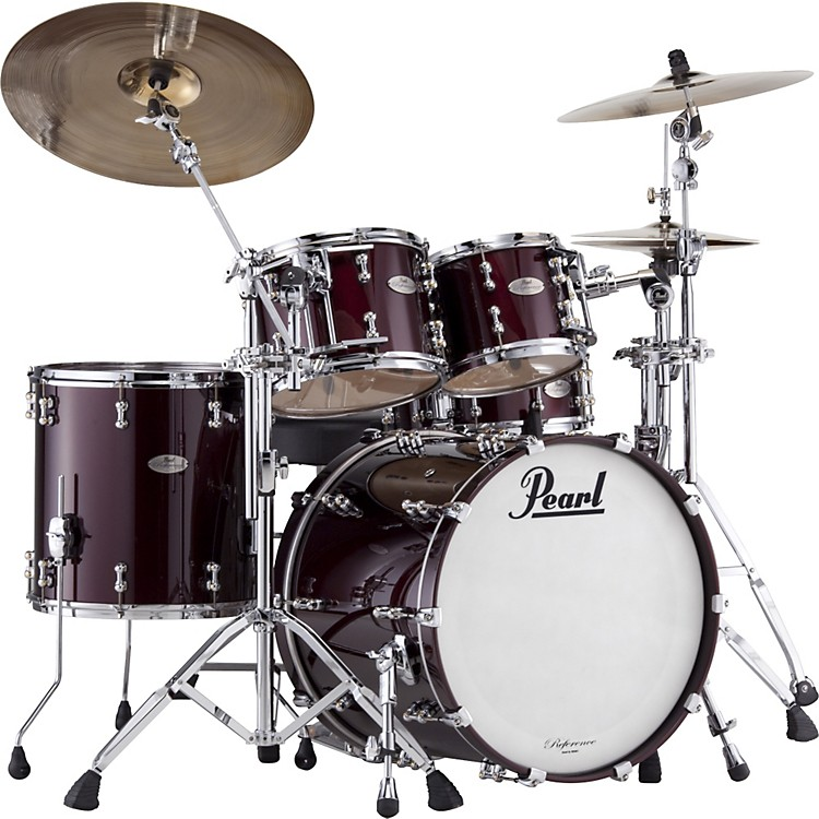 Pearl Reference Pure New Fusion Shell Pack Black Cherry