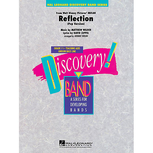 Hal Leonard Reflection (from Mulan) Concert Band Level 1 1/2 Arranged by Johnnie Vinson-thumbnail