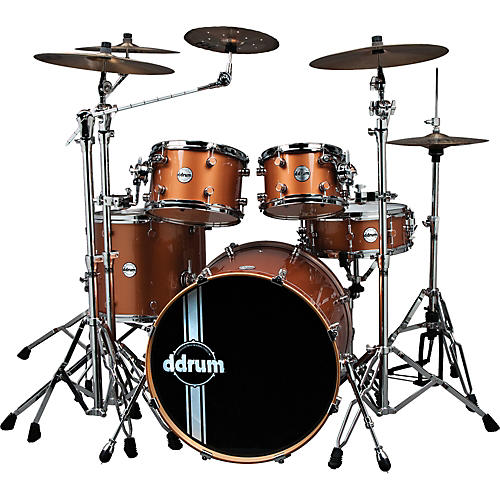 Ddrum Reflex Custom 5-Piece Shell Pack Gray Bubble