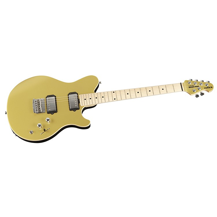 Music Man Reflex HH Electric Guitar Vintage Gold Maple Fretboard