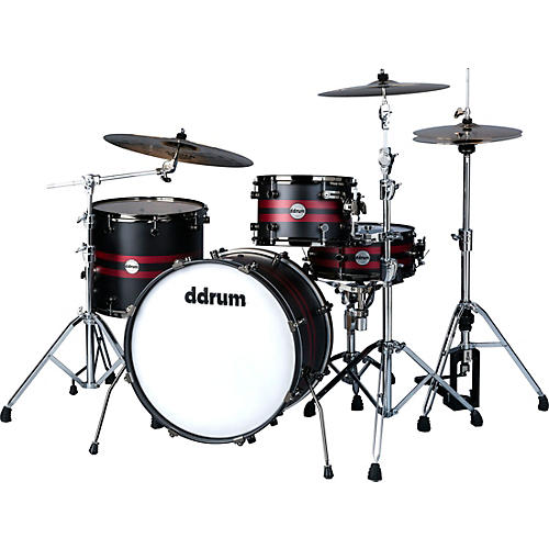 Ddrum Reflex Rally Sport 422 Exclusive 4-Piece Shell Pack-thumbnail