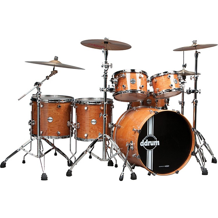 ddrum Reflex Uptown Exotic 6-Piece Shell Pack Natural Alder Gloss
