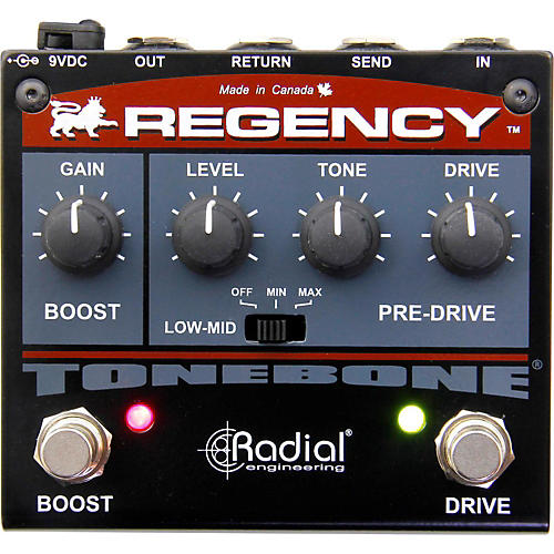 Radial Engineering Regency Pre-Drive and Booster Guitar Effects Pedal-thumbnail