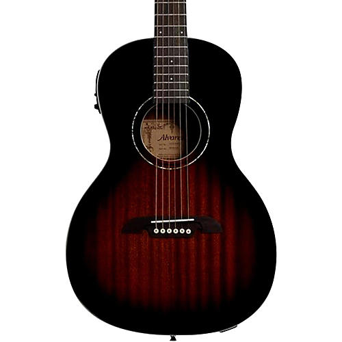 Alvarez Regent RP266 Parlor Acoustic-Electric Guitar-thumbnail