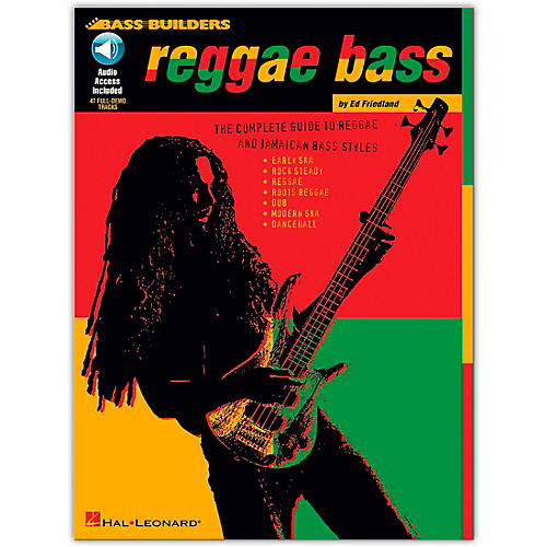 Hal Leonard Reggae Bass (Book/Online Audio)-thumbnail