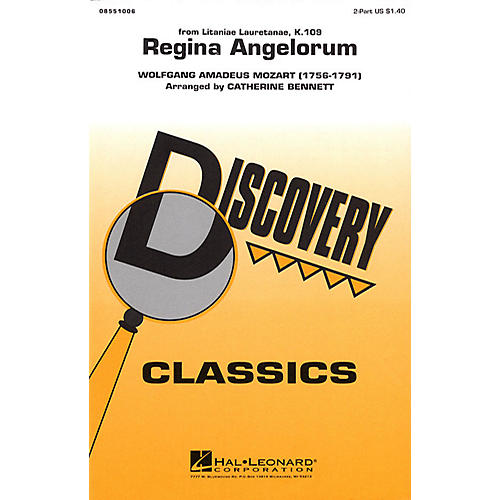 Hal Leonard Regina Angelorum 2-Part arranged by Catherine Bennett-thumbnail