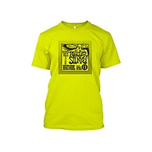 Ernie Ball Regular Slinky T-Shirt Neon Yellow Extra Extra Large