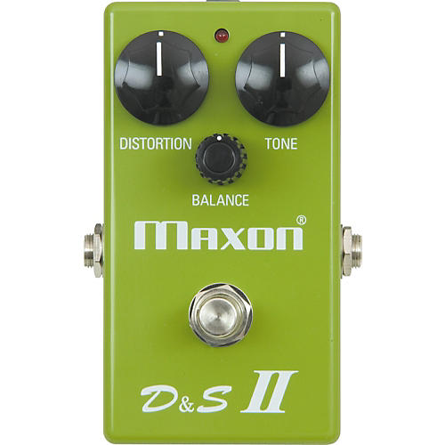 Maxon Reissue Series D&S II Distortion and Sustainer II Pedal