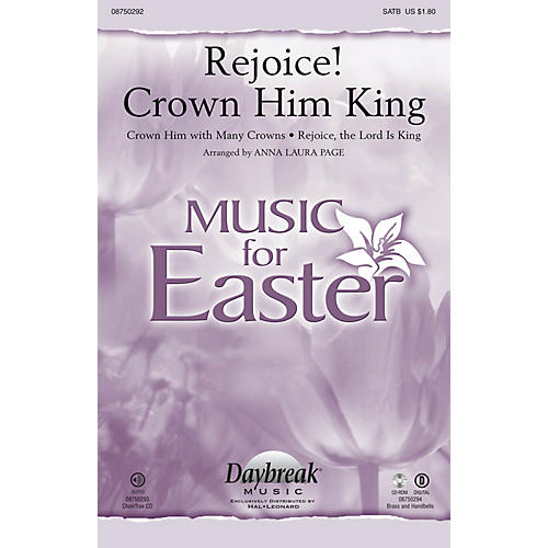 Daybreak Music Rejoice! Crown Him King CHOIRTRAX CD Arranged by Anna Laura Page-thumbnail