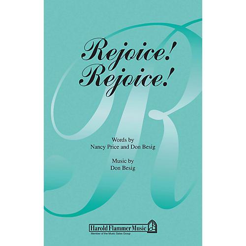 Shawnee Press Rejoice! Rejoice! SATB composed by Nancy Price-thumbnail