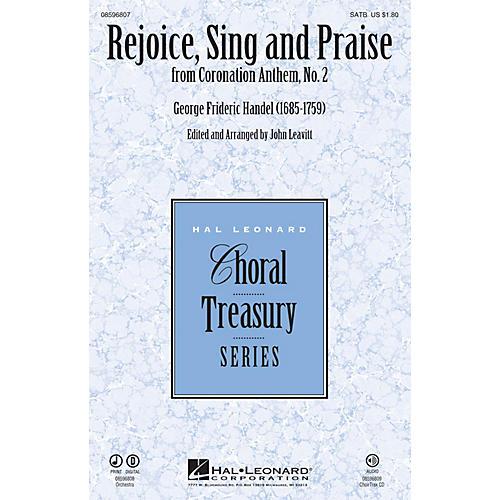 Hal Leonard Rejoice, Sing and Praise (from Coronation Anthem, No. 2) SATB arranged by John Leavitt-thumbnail