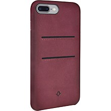 Twelve South Relaxed Leather Pockets Marsala Burnished Case Ip7+ W/Pockets